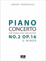 Prokofiev Piano Concerto No.2 Op.16 Score and Parts