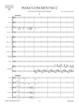 Prokofiev Piano Concerto No.2 in G minor, sheet music