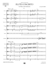Ibert: Concerto for Flute and Orchestra, Score and Parts sheet music