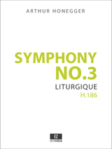 Honegger Symphony No.3 Score and Parts