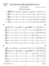 Villa-Lobos Bachianas Brasileiras No.4 W424 sheet music