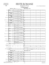 Respighi: Feste Romane (Roman Festivals) , Full Score and Orchestral Parts