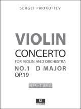 Prokofiev Violin Concerto No.1 Op.19 set of orchestral parts, full score, sheet music