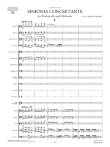 Prokofiev Symphony-Concerto Op.125, Score and set of orchestral parts