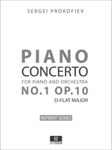 Prokofiev Piano Concerto No.1 Op.10 Full Score and Set of Parts