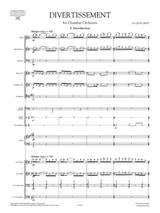 Ibert Divertissement - Full Score and Set of Orchestral Parts