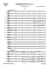 Prokofieff Symphony No.7 Score and Set of Parts