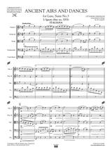 Respighi Antiche Danze ed Arie Suite No.3 - Score and Parts, string orchestra