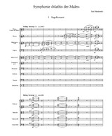 Hindemith Symphonie Mathis der Maler, Score and Parts