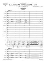 Villa Lobos Bachianas Brasileiras No.3 for Piano and Orchestra - Score and Orchestral Parts