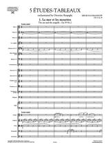 Rachmaninov 5 Etudes-Tableaux orchestrated by Respighi - Score and Orchestral Parts