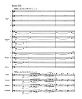 Hindemith - Concert Music Op.50 for Brass and Strings, Score and Parts sheet music