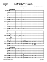 Prokofieff Symphony No.6 Op.111 Full Score and Set of Parts