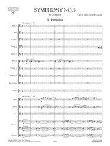 Vaughan Williams - Symphony No.5 - Full Score and Set of Orchestral Parts