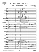 Strauss: Rosenkavalier Suite SHeet Music, Set of Orchestral Parts, Conductor's Score