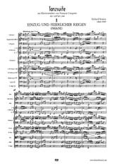 Strauss: Tanzsuite aus Klavierstücken von François Couperin , Score and Parts