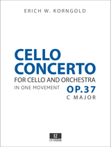 Korngold Cello Concerto Op.37 - Score & Parts