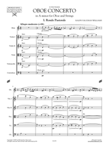 Vaughan Williams: Concerto for Oboe and Strings in A minor, Score and Parts