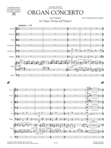 Poulenc: Concerto for Organ, Timpani and Strings - Sheet Music