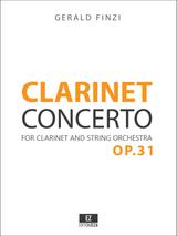 Finzi Clarinet Concerto, Score and Parts