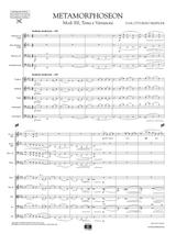 Respighi Metamorphoseon Score and Parts