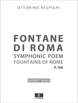 Respighi Fontane di Roma, score and set of parts