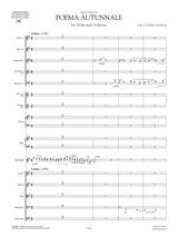 Respighi Poema Autunnale sheet music