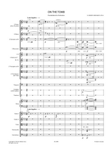 Rimsky-Korsakov, N. - On the Tomb Op.61 Praeludium for Orchestra Sheet Music, Score and Orchestral Parts.