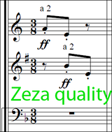 Lalo, E. - Scherzo in D minor for Orchestra Partitur