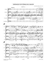 Dvorak, A. - Serenade for Strings in E Major Op.22 B.52 Sheet Music