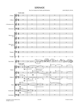 Sheet music for Sibelius, J. - Serenade No.2 in G minor Op.69b for Violin and Orchestra