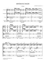 Sheet music for Vivaldi, A. - Sinfonia in C Major RV 116 for Strings