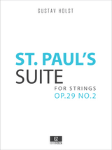 Holst, G. - St. Paul's Suite Op.29 No.2 for Strings - Score and Parts