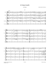 Holst, G. - St. Paul's Suite Op.29 No.2 for String Orchestra - - Score and Parts