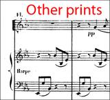 """Saint-Saëns, C. - Une Nuit a Lisbonne """"Barcarolle"""" Op.63 Score and Orchestral parts"""
