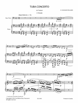 Vaughan Williams Tuba Concerto sheet music