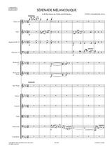 sheet music tchaikovsky serenade melancolique op.26 violin orchestra full score