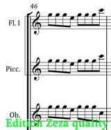 sheet music Sullivan The Mikado Overture edition zeza