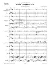 sheet music respighi adagio con variazioni for cello and orchestra