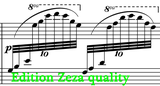 sheet music respighi adagio con variazioni sheet music