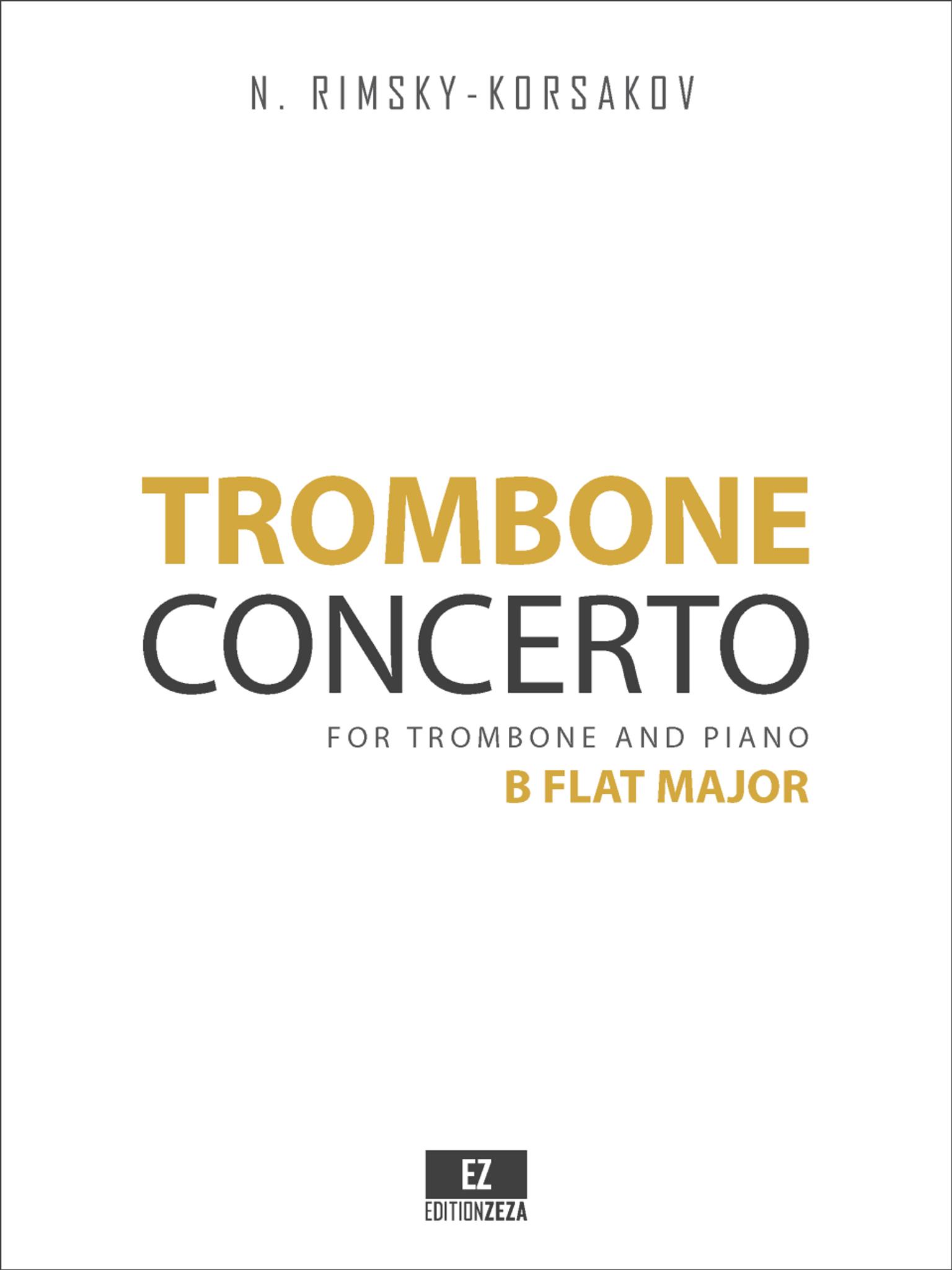 Rimsky-Korsakov - Trombone Concerto in B Flat Major, for Trombone and Piano