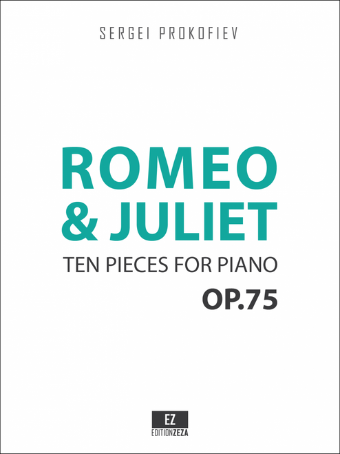 sheet music prokofiev romeo juliet piano