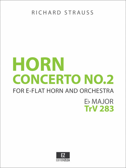 Strauss: Horn Concerto No.2, Score and Parts, sheet music