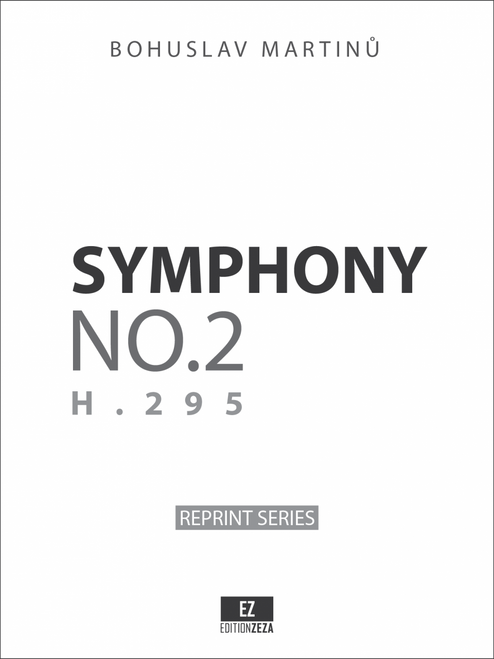 Martinu Symphony No.2 H.295 sheet music