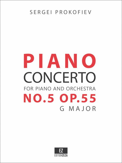 Prokofiev Piano Concerto No.5 Score and Parts