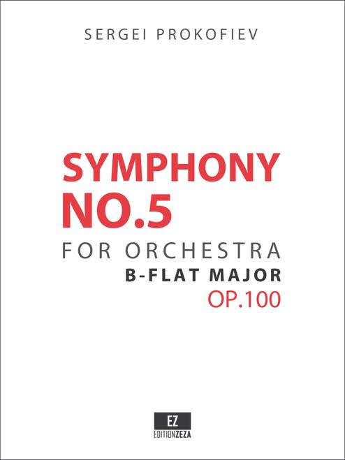 Prokofiev Symphony No.5 Op.100 Score and Parts