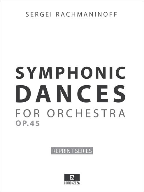 Rachmaninoff - Symphonic Dances Op.45 - Score and Set of Parts