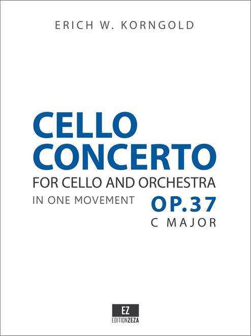 Korngold Cello Concerto Op.37 - Score & Parts