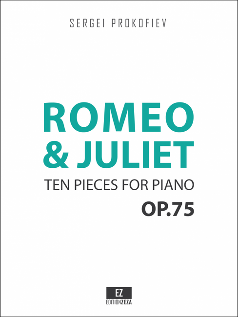 sheet music prokofiev romeo juliet piano