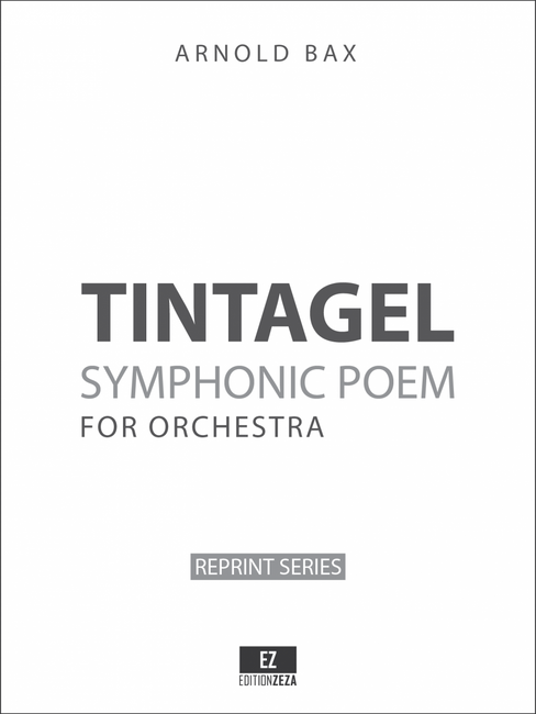 Bax: Tintagel, Symphonic Poem. Set of Orchestral Parts, sheet music